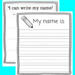 Worksheets : Name Tracing Printable Eduprintables Fabulous