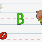 Write The Letter B | Alphabet Writing Lesson For Children | The Singing  Walrus