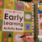 Write & Wipes Abc With Sounds ,wipe Clean Early Learning Activity  Book,starting Pen Control