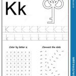 Writing Letter K. Worksheet. Writing A-Z, Alphabet