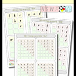 Writing Words Nswf (50 Distance Learning Worksheets For