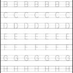 1 Capital Alphabets Tracing Worksheets Fun Printable Capital