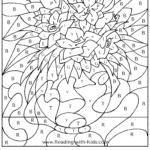 46 Outstanding Multiplication Colornumber Worksheets