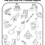 Astonishing Christmas Worksheets For Kindergarten