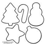 Awesome Christmas Cookie Coloring Pages – Fundacion Luchadoresav
