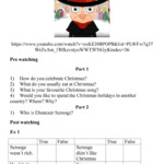 Christmas Carol English Esl Worksheets For Distance Learning