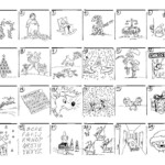 Christmas Carol Puzzles | Christmas Puzzles Printables