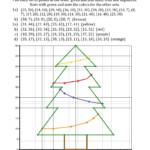Christmas Cartesian Art Christmas Tree (A) Christmas Math