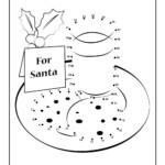 Christmas Cookies Dot To Dot Printable   Woo! Jr. Kids