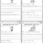 Christmas Cursive Handwriting Practice Worksheets