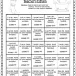 Christmas Edition: Rounding Bingo   Math Instruction, Fourth