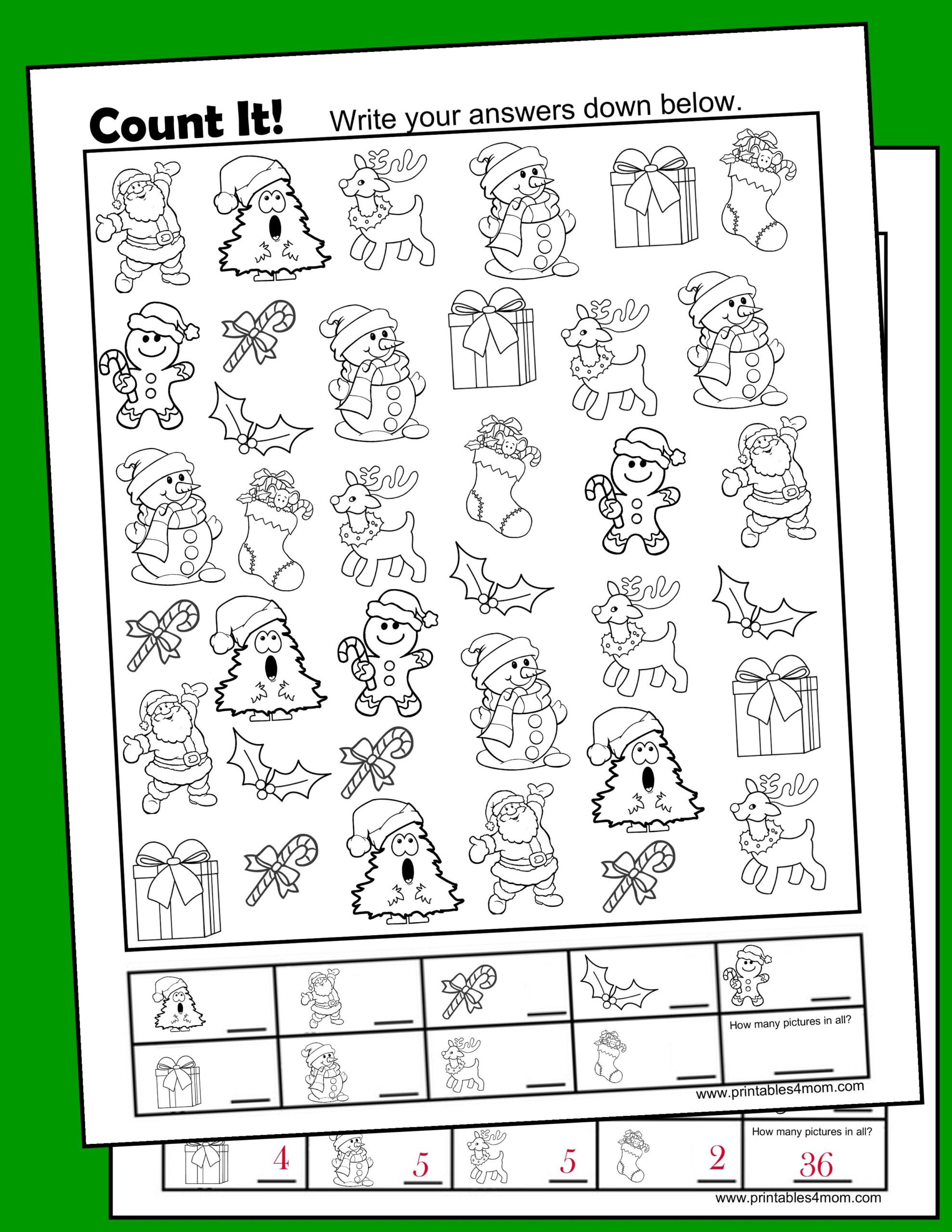 Christmas Free I Spy Printable Activity - Printables 4 Mom