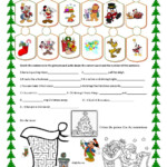 Christmas Fun | Christmas Worksheets, Christmas School