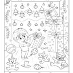 Christmas Gifts Hidden Picture Printable Activity | Woo! Jr