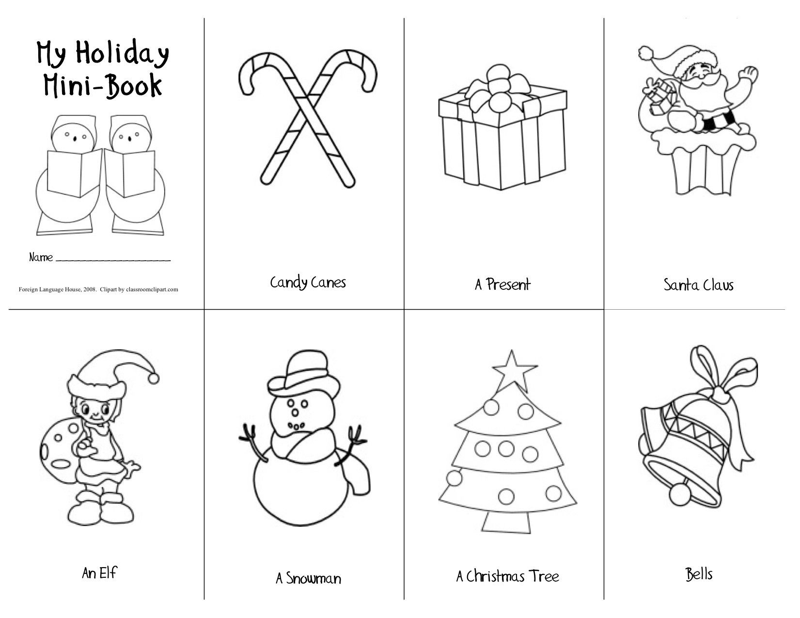 Christmas Material--Printable Esl Material--Vietnam Teaching
