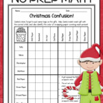 Christmas Math Activities For 4Th Grade, 5Th, 6Th, And