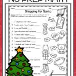 Christmas Math Worksheets | Christmas Math Worksheets