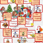 Christmas Party Board Game - Esl Worksheetelfelena