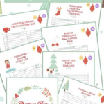 Christmas Party Planning Printable Free Free Pdf Download