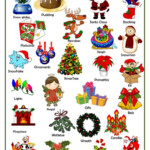 Christmas Pictionary - English Esl Worksheets For Distance