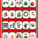 Christmas Pictionary - Esl Worksheetmarília Gomes