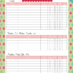 Christmas Planner Archives - Page 2 Of 2 - Time 2 Save