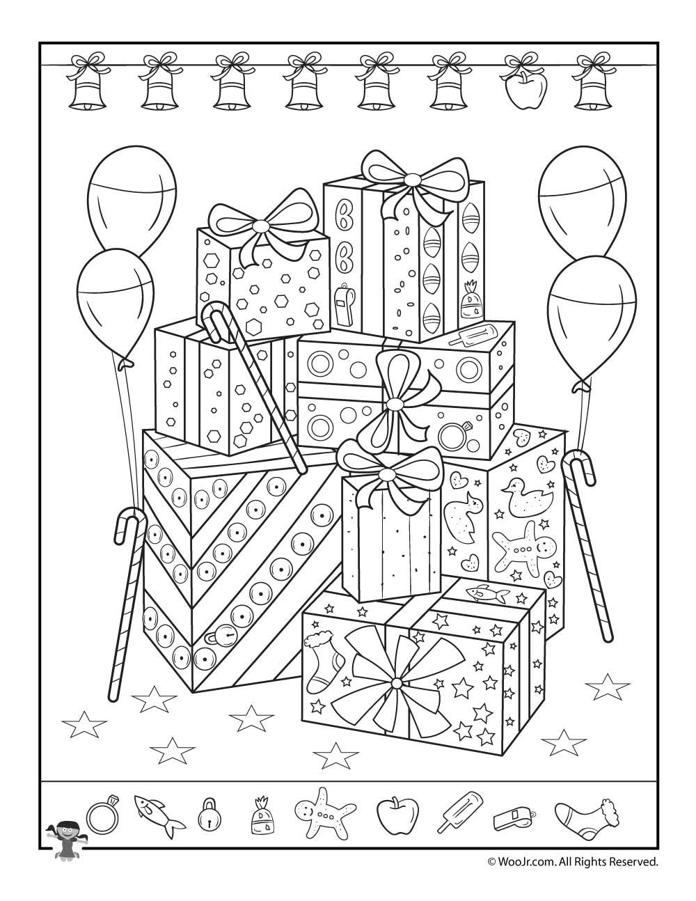 Christmas Presents I Spy Printable | Woo! Jr. Kids Activities