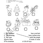 Christmas Primary School - Esl Worksheetamalthea81