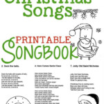 Christmas Songs For Kids - Free Printable Songbook! - A