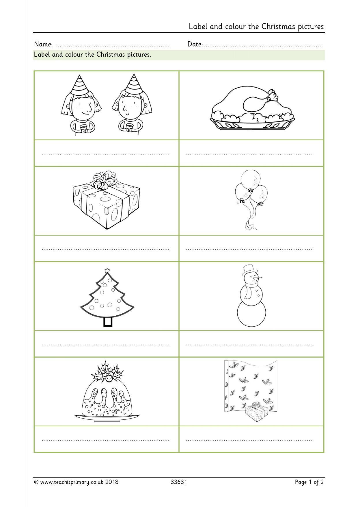 Christmas - Teachit Primary
