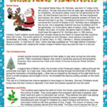 Christmas Traditions - English Esl Worksheets For Distance