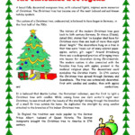 Christmas Tree | Christmas Reading Comprehension, Christmas