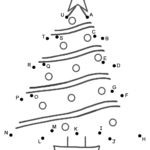 Christmas Tree - Connect The Dotscapital Letters (Christmas)