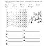 Christmas Worksheets And Printouts Language Arts