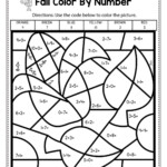 Coloring Pages Multiplication Unique First Color Byumber
