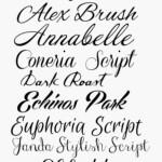 Cursive Writing Alphabet Font Tracing Generator Script Fonts