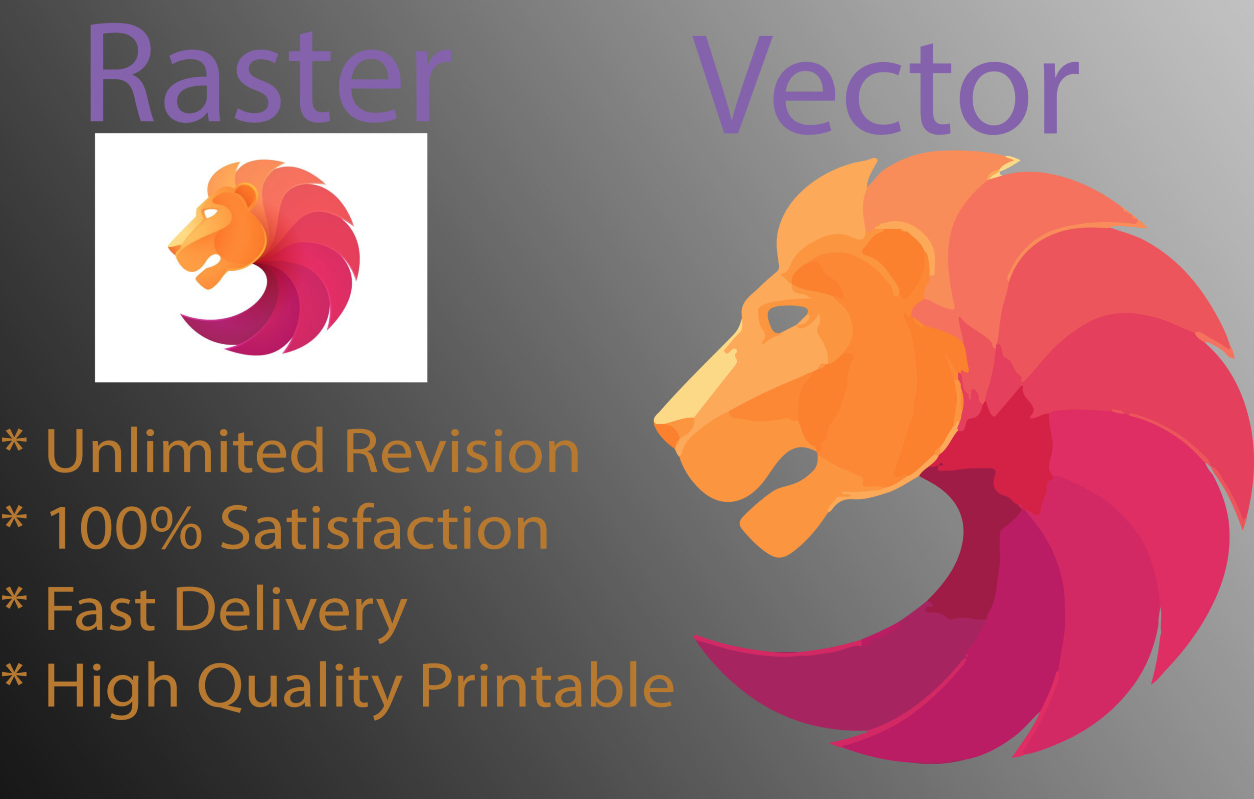Design Vector Trace, Convert Your Logoolivergraphic