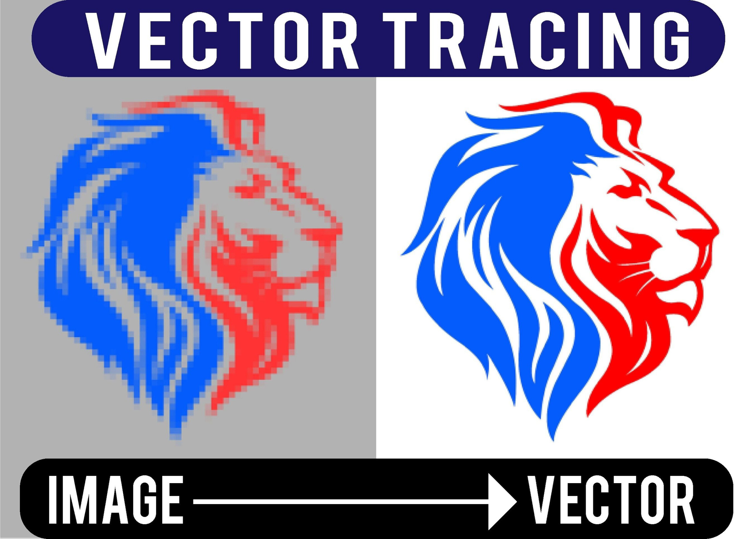 Designimation : I Will Vectorize Your Image Logo To Vector