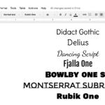 Designing Beautiful Google Docs | Ladybug's Teacher Files