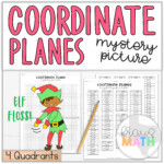 Elf Floss Dance Coordinate Plane Activity (4 Quadrants