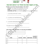 English Worksheets: High School Christmas Worksheet