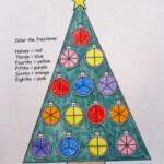 Free Christmas Fraction Worksheet! | Fractions, Christmas