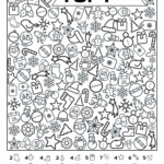 Free Printable I Spy Christmas Activity | Paper Trail Design