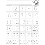 Free Tracing Worksheets Number Trace Create Name Printable