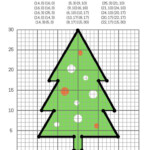 Graphing Christmas Coordinates Math Art Activity   Our