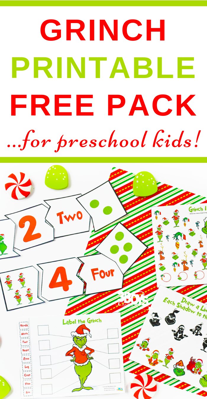 How The Grinch Stole Christmas Printables   Grinch Unit