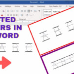 How To Make Tracing Letters In Microsoft Word | Dotted Letters In Ms Word