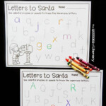 Letters To Santa Letter Tracing Printables - The