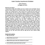 Little Piccola Third Grade Reading Worksheets | Third Grade