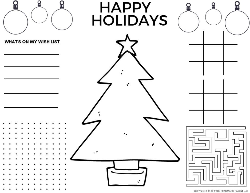 Marvelous Free Printable Christmas Coloring Sheets